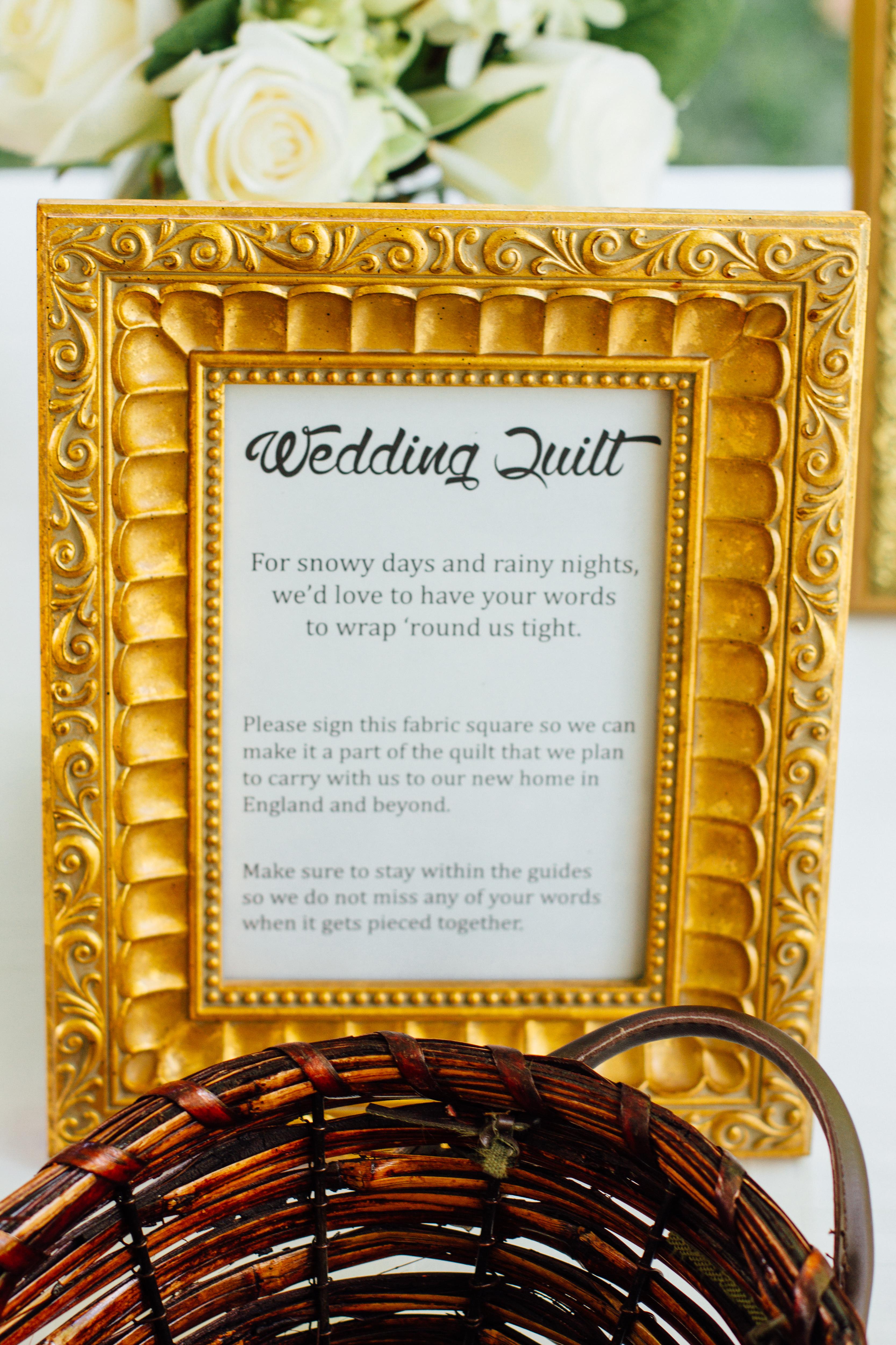 The Wedding Quilt | Wattle We Sew